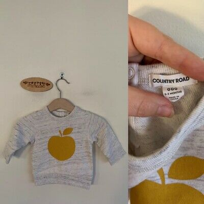 Sz 000 Country Road Grey Apple Jumper