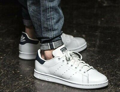 Details about ADIDAS STAN SMITH SHOES MENS ORIGINALS SUPERSTAR WHITE LEATHER GAZELLE S80498