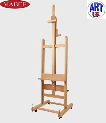 Mabef Professional Artist Beech Wood Double Sided Studio Easel - M/19