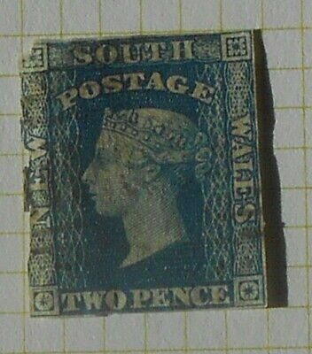 New South Wales - SG107 - 2d Dull Blue