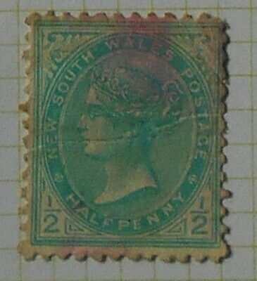 New South Wales - 1892 - SG285a - 1/2d