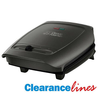 George Foreman Compact Variable Temperature Grill 18851 - Black