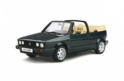 Otto Mobile Volkswagen ( VW ) Golf MK1 Cabriolet Classic Line 1:12 green