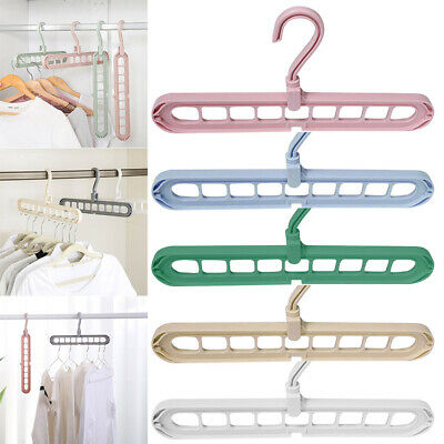 Rotate Anti-skid Folding Hanger Portable Hanging for Home Wet/Dry Cloth