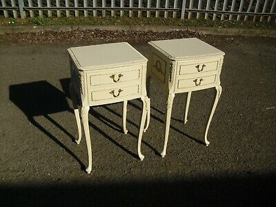 Lovely Pair Of French Louis Style Olympus Bedside Cabinets Tables