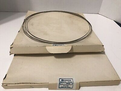 Rockwell International 93 1/2 inch by 1/8 inch Band Saw Blades (set Of 2) NOS