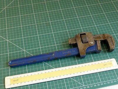 Record 14 Pipe Wrench. Made in England.  Little Used. ( Stillson )