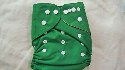 New Cloth Pocket Diaper Nappy Microfiber Insert Solid Dark Green