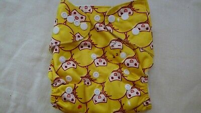 New Cloth Pocket Diaper Nappy Microfiber Insert Happy YellowHead