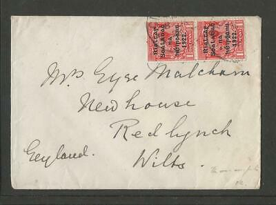 Ireland 1922 Overprint Cover To England (2)