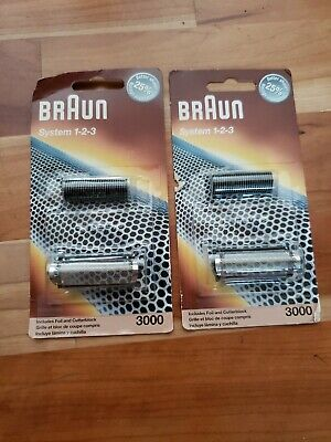 Braun 3000 Series Genuine Screen And Cutter Kit 5567, 5564, 5569, 5524, 5419