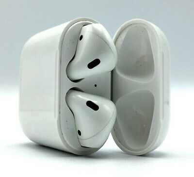 Apple AirPods 1st Gen Wireless Bluetooth Earbuds - White (Used)