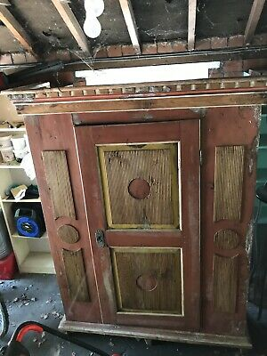 Antique Austrian Armoire C1800s Restoration Needed