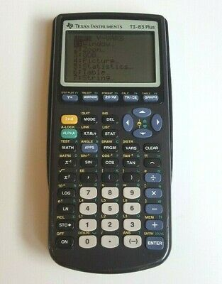 Texas Instruments TI-83 Plus Scientific Graphing Calculator    **FREE SHIPPING**
