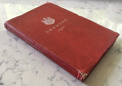 Antique Travel Book Denmark 1927 Danish Ministry For Foreign Affairs
