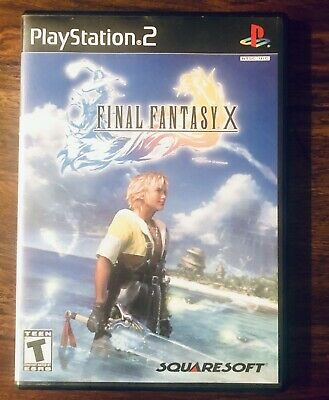 Final Fantasy X 10 for Sony PlayStation 2 (2001) PS2 Black Label First Print