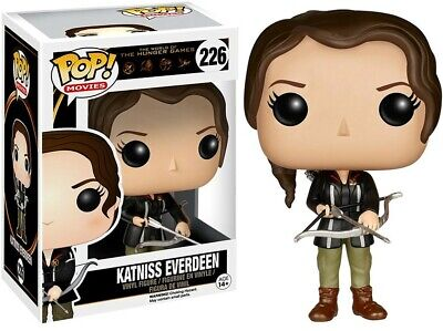 Flawed Figure Funko Pop Movies The Hunger Games KATNISS EVERDEEN #226  VAULTED
