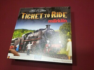 Ticket to Ride - Marklin Collector's Edition! Rare Days of Wonder