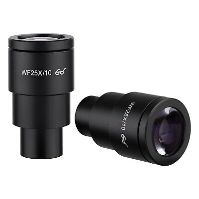 AmScope EP25X30E Pair of Extreme Widefield 25X Eyepieces (30mm) for Microscopes