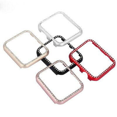 Aluminum Cover Case Metal Protective Shell For Apple Watch 38mm 42mm 40mm 44mm