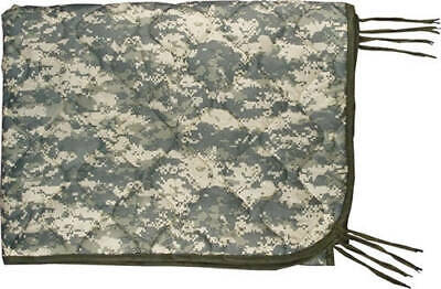 SLIGHTLY USED US Army ACU Digital Wet Weather PONCHO LINER Woobie Blanket