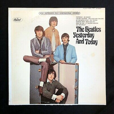 THE BEATLES Yesterday and Today Capitol ST-2553 5 LP w/ Trunk Pasteover Unpeeled