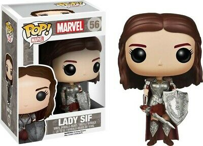 Funko Pop! Marvel Lady Sif #56 Vinyl Figure VAULTED with PROTECTOR