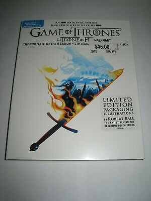 Game of Thrones the complete Sv.... (Blu Ray slip cover only) No Disc No Blu Ray
