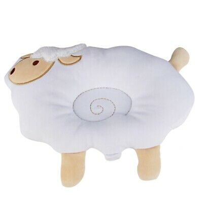 Infant Baby Pillow Newborn Anti Flat Head Syndrome for Crib Bed Neck Head Suppor