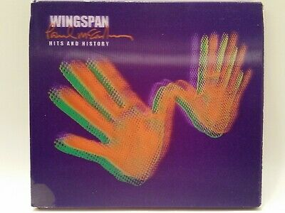 Wingspan - Paul McCartney & Wings - Limited 2 CD set with 3D slip case VERY GOOD