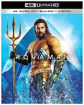 Aquaman (Blu-ray, 2019, 4K Ultra HD Blu-ray, Canadian)