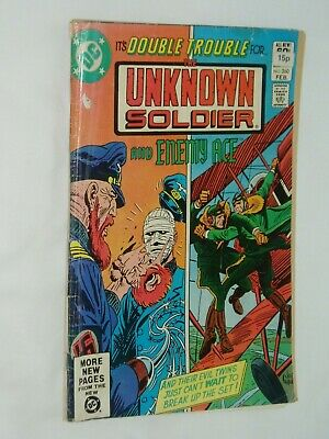 UNKNOWN SOLDIER  comic..............(USA....DC).....1982...number 260