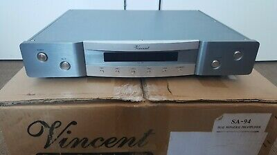 Vincent SA-94 Stereo Preamplifier - Silver