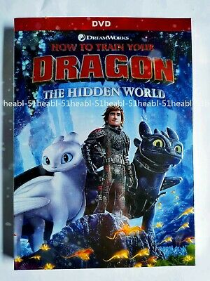 How To Train Your Dragon 3: Hidden World (DVD, 2019) Brand New! Unopened! USA