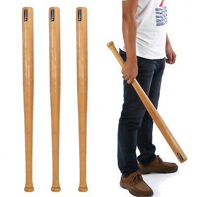 "32"" 81cm Wood Baseball Bat Self Defense Family Car Safety Exercise Sports Wooden"
