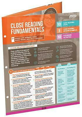 Close Reading Fundamentals (Quick Reference Guide) by Diane Lapp (English) Free
