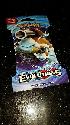 Pokemon Evolutions sleeved booster pack !!! Very Rare..... factory sealed.....
