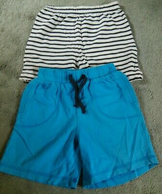 boys two pairs of summer soft shorts 12-18 mths