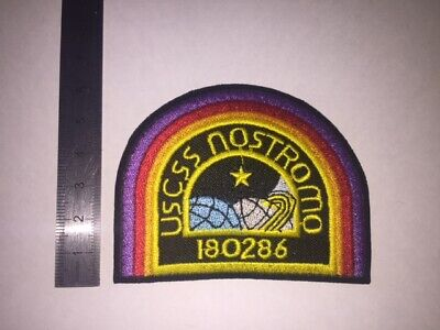 D255 Patch Ecusson Nostromo - Vaisseau Alien 8*6 Cm
