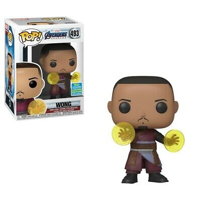 Funko Pop! 2019 SDCC Marvel Avengers End Game Wong Walgreens Exclusive