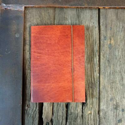 Leather Notebook, Travel Journal - Handmade Cotton Paper