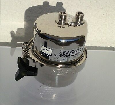 General Ecology Seagull IV Drinking Water / Air stainless steel pressure vessel,