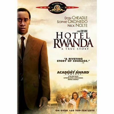 Hotel Rwanda (DVD, Region 1) Very Good condition from personal collection!