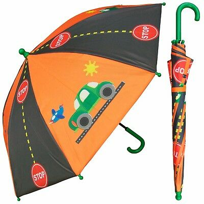 """Lot of 24 pieces-32"""" Arc Children Cars, Roadway, Airplanes Umbrella-RainStoppers"""