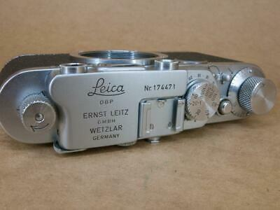 Leitz Leica II converted to IIf Black Dial 1935 - interesting serial number