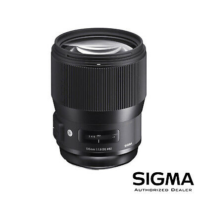 Sigma 135mm F1.8 DG HSM Art Lens for Sony E *OPEN BOX* ***USA AUTHORIZED***