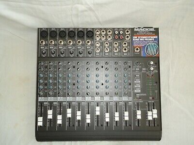 Mackie 1402-VLZ Micro Series 14-Channel Mic/Line Mixer Mixing Console