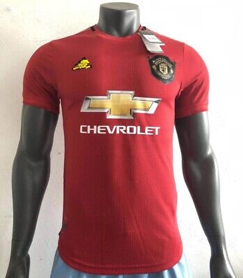 NEW Manchester United Home And Away Shirts 2019/2020 Football Jersey MUFC