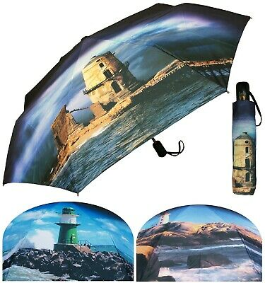 """Lot of 24 Pieces - 44"""" Arc Auto-Auto Lighthouse Print Collection - RainStoppers"""