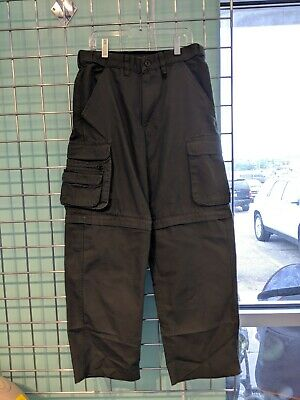 Boy Scouts of America Green Convertible Switchback Uniform Pants Youth Medium